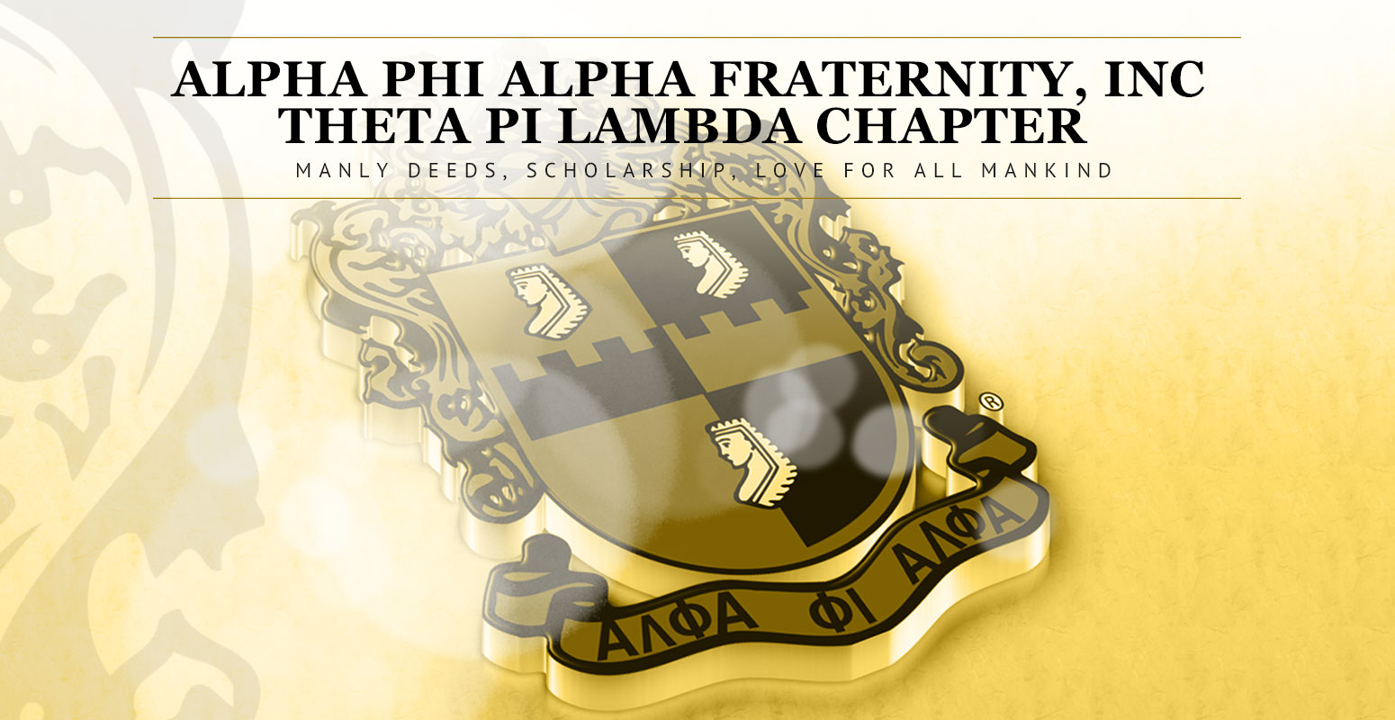Alpha Phi Alpha Fraternity, Inc | Theta Pi Lambda Chapter